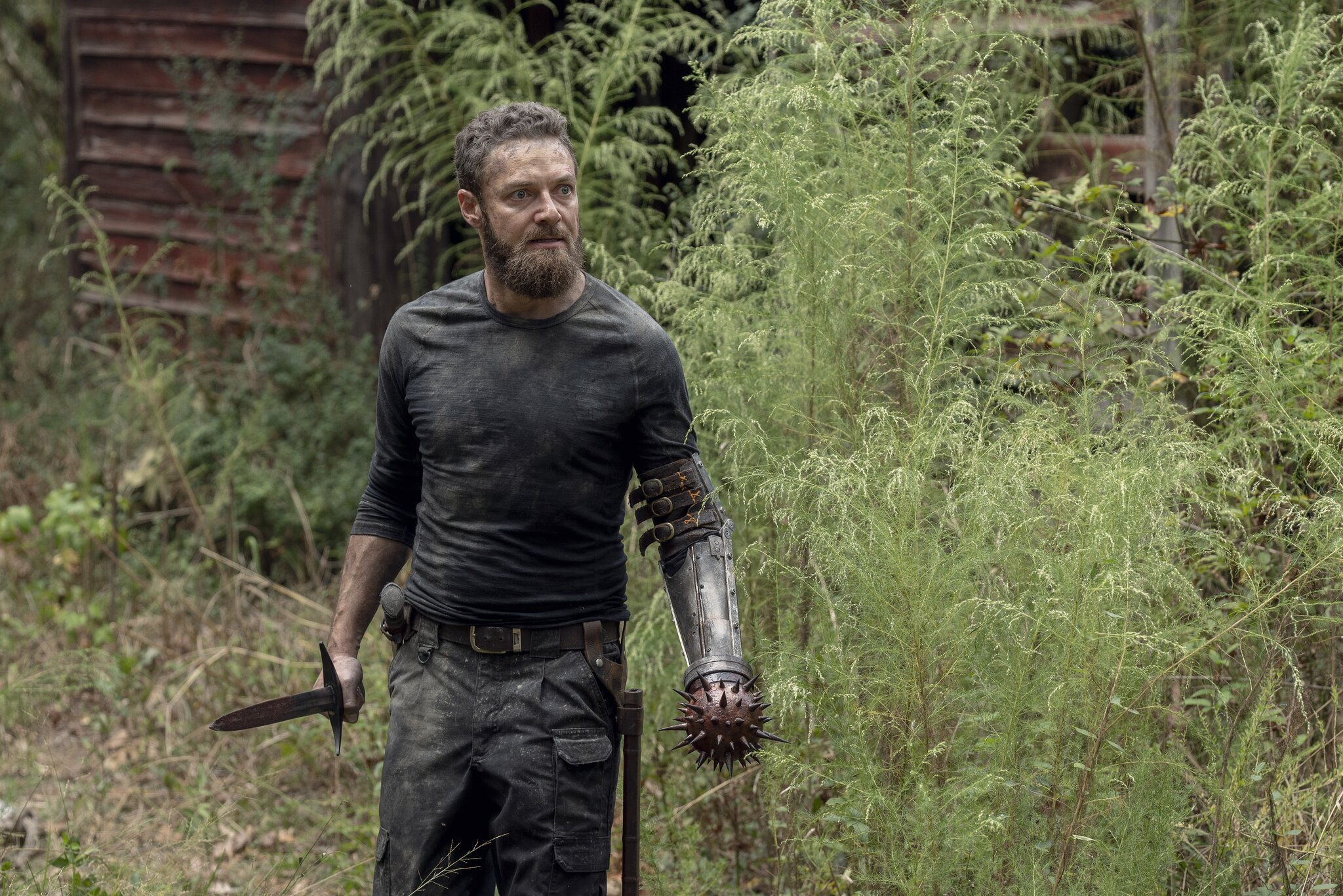 The Walking Dead-Star Ross Marquand trennt sich von seinem Aaron-Look
